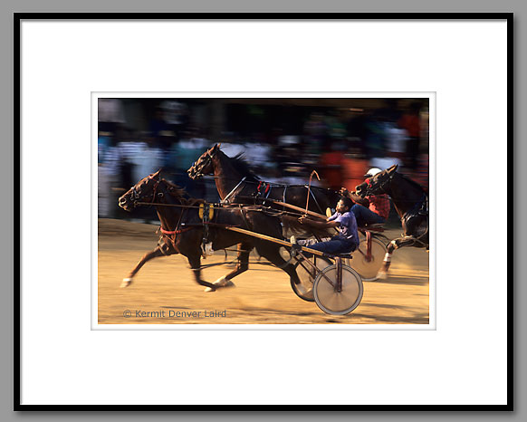 Harness Racing, Outlaw's Track, Oktibbeha County, MS