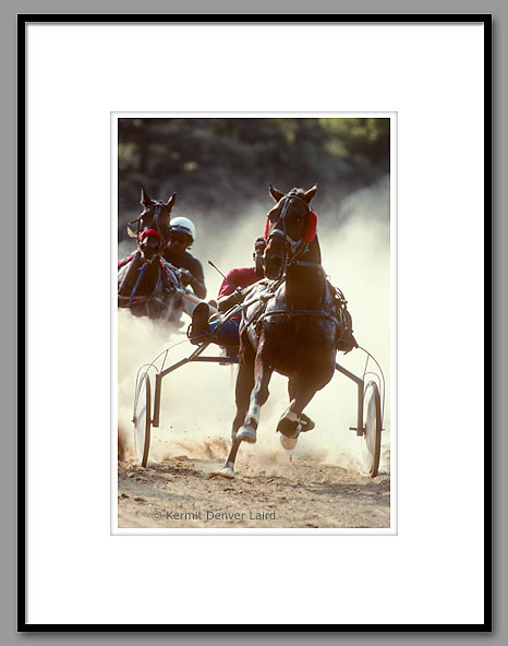 Harness Racing, Minor's Track, Oktibbeha County, MS